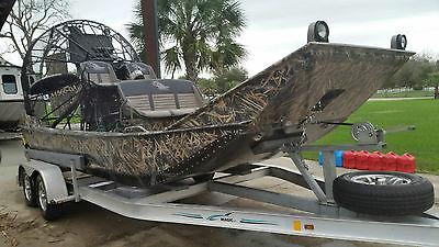 2012 Mark's Airboat 17' Levitator LSA 550HP SUPERCHARGED ENGINE