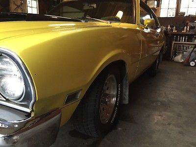 Mercury : Comet 1976 mercury comet coupe maveric grabber falcon fairlane muscle car, 2