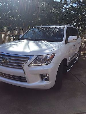 Lexus : LX 2014 lx 570 2400 mile new