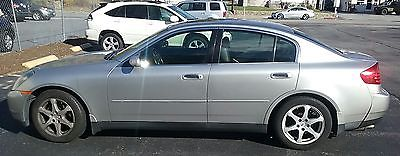 Infiniti : G35 X Sedan 4-Door 2004 infiniti g 35 x awd 4 x 4 sedan 4 dr car great condition