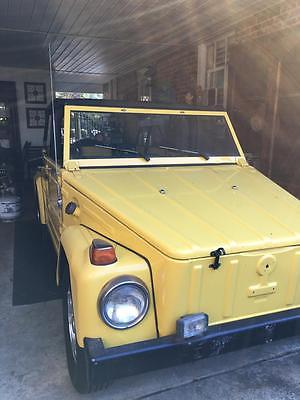 Volkswagen : Thing 1973 vw thing