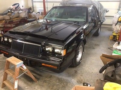 Buick : Grand National T TOPS GORGEOUS BLACK PAINT, NEW ENGINE, LIKE NEW IN AND OUT, FAST, SOUTHERN CAR