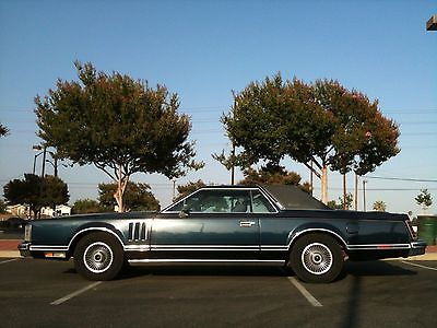 Lincoln : Continental 1979 lincoln continental mark v collector s series cartier edition