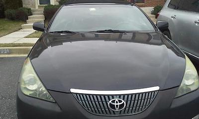 Toyota : Solara SE Convertible 2005 2-Door Toyota Automobile Black Solara SE, V6