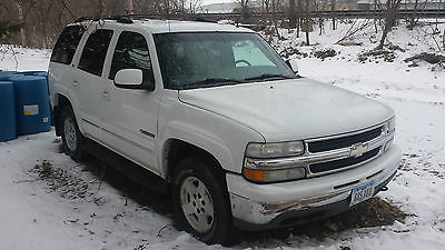 Chevrolet : Tahoe LT Sport Utility 4-Door 2002 chevy tahoe lt 4 x 4 needs transmission e 85 pre stability traction control