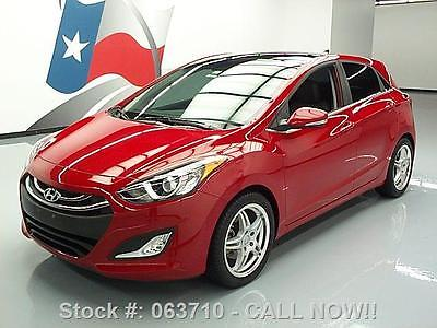 Hyundai : Elantra GT HATCHBACK PANO ROOF HTD LEATHER 2013 hyundai elantra gt hatchback pano roof htd leather 063710 texas direct