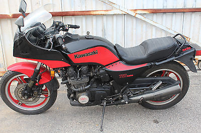 Kawasaki : Other 1984 kawasaki gpz 750 turbo zx 750 e