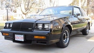 Buick : Grand National Turbo Regal 1987 buick grand national no reserve 1987 buick grand national 87 gn turbo