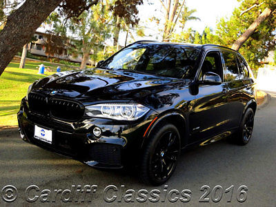 BMW : X5 xDrive50i 14 x 5 m sport package pano roof executive package nav 1 owner california car