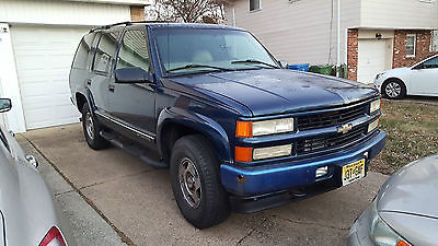 Chevrolet : Tahoe 2000 CHEVY TAHOE 4X4 Z71 2000 chevy tahoe z 71 4 x 4 4 dr only 126 k miles read description