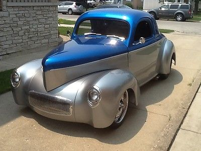 Willys : Street Rod Show Car 2 Dr 1941 willys custom street rod over 100 k invested
