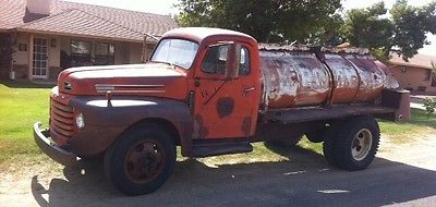 Other Makes 1949 ford dually f 6 tanker truck with title