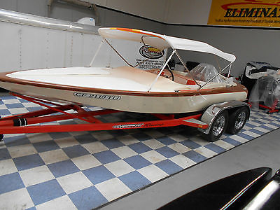 classic 1964 lavey craft flat bottom speed boat recent thousands $$$ spent L@@K