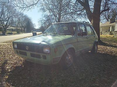 Volkswagen : Rabbit C 1980 vw rabbit c mountain green