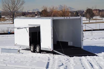 IN STOCK 8.5 X 24 Aluminum ATC CH205 Enclosed Carhauler Cargo Trailer: VIDEO