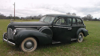 Buick : Other Limited Rare 1940 Buick LIMITED LIMOUSINE BARN FIND ;MUST SEE THIS ONE!
