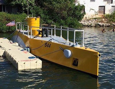 42' Submarine Replica Glass Bottom Charter Tour Boat