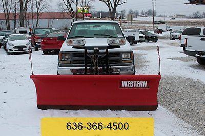 Chevrolet: C/K Pickup 2500 1999 used 5.7 l v 8 automatic 4 wd 4 x 4 western unimount snowplow service utility