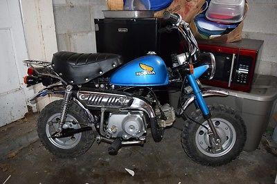 Honda : Other 1979 honda z 50 j jdm monkey bike rare import 80 restored runs good complete