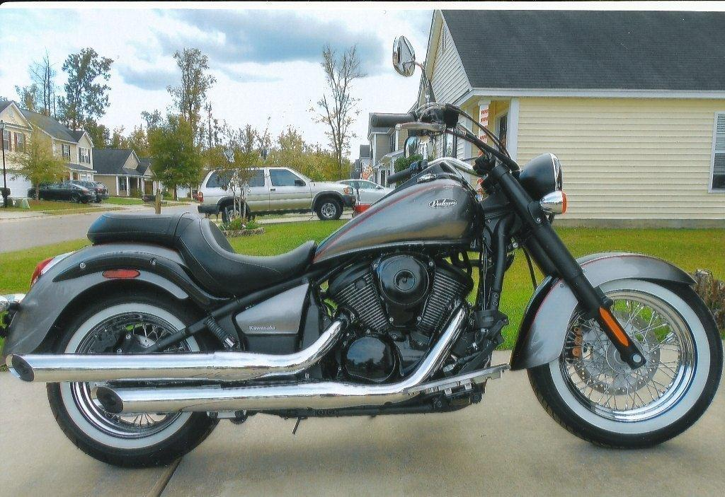 kawasaki vn 900 b classic motorcycles for sale. Black Bedroom Furniture Sets. Home Design Ideas