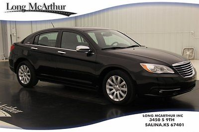 Chrysler : 200 Series Limited Certified Remote Start Heated Leather 2013 limited certified 2.4 l automatic fwd sedan 1 owner alloy wheels cruise