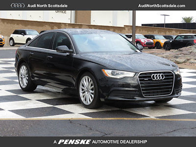 Audi : A6 Premium Plus TDI Navigation 44 k miles used black 14 audi a 6 diesel awd navigation bluetooth ipod heated seat