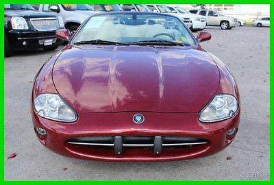 Jaguar : XK8 Base Convertible 2-Door 00 jag xk 8 navi conv leather alpine cd v 8 premium carfax