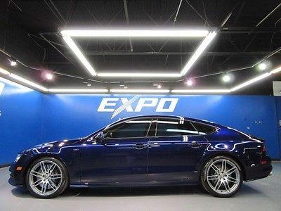 Audi : Other Prestige Audi S7 quattro S-tronic Presstige Sedan Black Optic Pkg  Nav Cam $86kMSRP!