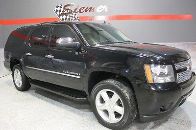 Chevrolet : Suburban LTZ black, black leather, ltz, awd,