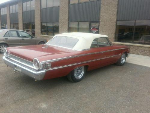 Ford : Galaxie xl convertable 1963 ford galaxie 500 xl convertable