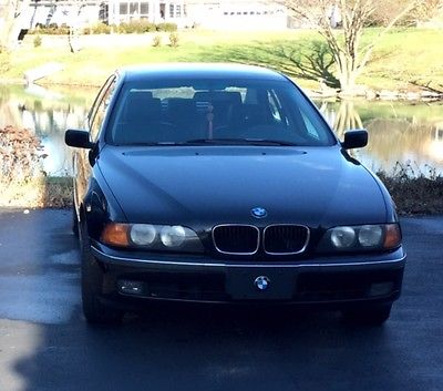 BMW : 5-Series 1997 bmw 528 i 2.8 l black black