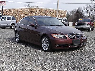 BMW : 3-Series 330 xi 2006 bmw 330 xi awd 6 speed standard sedan brown leather 4 wd 3 series moonroof