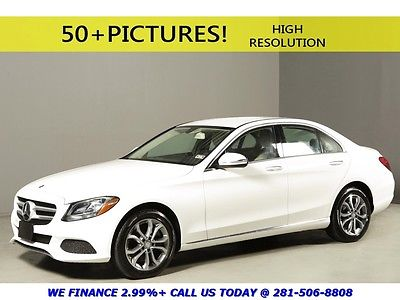 Mercedes-Benz : C-Class 2015 C300 4MATIC REARCAM SPORT WOOD LEATHER 17 2015 mercedes benz 2015 c 300 4 matic rearcam sport wood leather 17 automatic