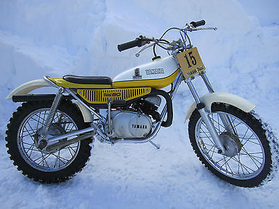 Yamaha : Other 1974 yamaha vintage trials bike ty 80 ty 80 ahrma father son project 1 owner