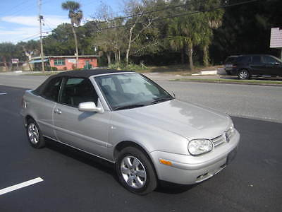 Volkswagen: Cabrio CLX 2001 volkswagon cabrio
