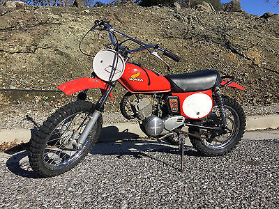 Honda: CR 1974 honda mr 50 elsinore nice vintage mini kids dirt bike z 50 cr cr 60 cr 80 cr 250
