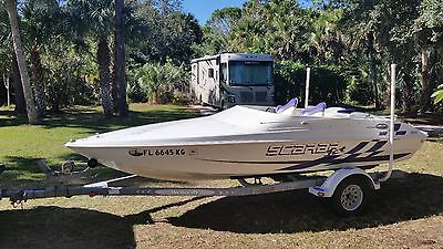 Wellcraft 19 Scarab Jet Boat 4.3GS JLKD with spare Volvo PJX drive
