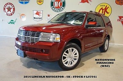 Lincoln : Navigator RWD SUNROOF,NAV,BACK-UP,HTD/COOL LTH,20'S,5K,WE FINANCE! 14 navigator rwd sunroof nav back up htd cool lth 20 in wheels 5 k we finance