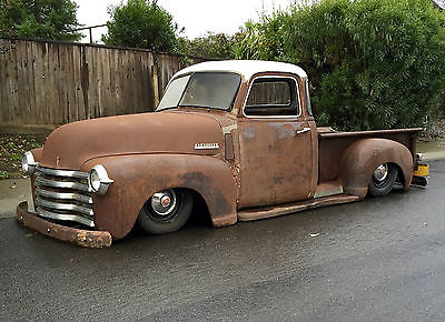 Chevrolet : Other Pickups 3100, 1/2 Ton, Bagged, Hot Rod 1947 chevrolet pickup 3100 short bed bagged 1948 1950 1951 1952 1953 1954