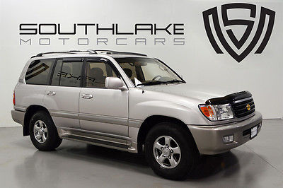 Toyota : Land Cruiser Base Sport Utility 4-Door 01 toyota land cruiser 3 rd row rear seat convenience gold pack hood protector