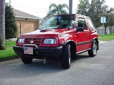 Chevrolet : Tracker Sport Utility 2-Door 1998 chevrolet tracker 4 x 4 sport utility 2 door 1.6 l mpi a t a c low mileage