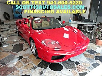 Ferrari : 360 Spider 2004 ferrari spider