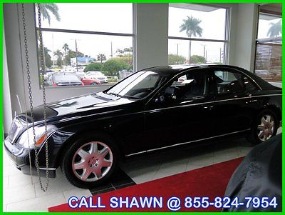 Maybach : 57 RARE COLOR COMBO, JUST TRADED IN, MAYBACH DEALER!! 2009 maybach 57 1 owner just traded in buy from a maybach dealer must l k