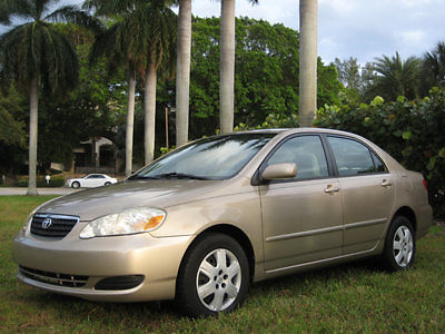 Toyota: Corolla INCREDIBLE- 39,535 ORIGINAL MILES - ALL SERVICE RE 2006 toyota corolla only 39 535 miles simply as new death forces sale incredible