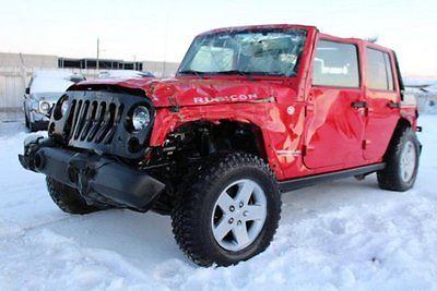 Jeep : Wrangler Unlimited Rubicon 4WD 2010 jeep wrangler unlimited rubicon 4 wd salvage wrecked export welcome l k