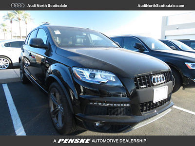 Audi : Q7 S Line Prestige New 2015 Audi Q7 Navigation AWD Bluetooth Camera S Line 7 Passengers