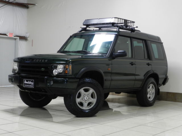Land Rover : Discovery LIFTED 4X4 SAFARI LAND ROVER DISCOVER 2 LIFTED NAVI TV/DVD BASKET HEATED SEATS DUAL SUNROOF