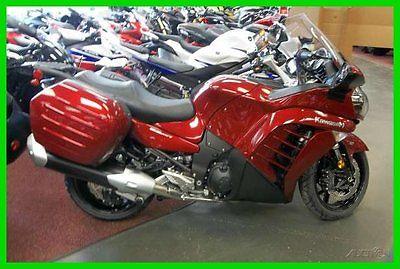 Kawasaki: Concours™ New 2014 14 Kawasaki Concours ZG1400 ZG 1400 ABS sport touring saddle bags OTD