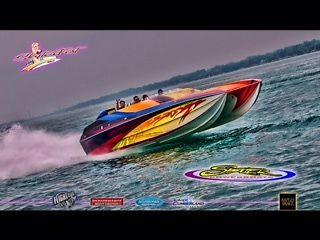 2001 32 Skater offshore power boat