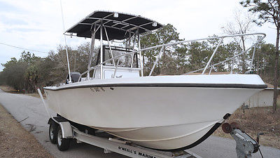 Center Console Boat Mako 224